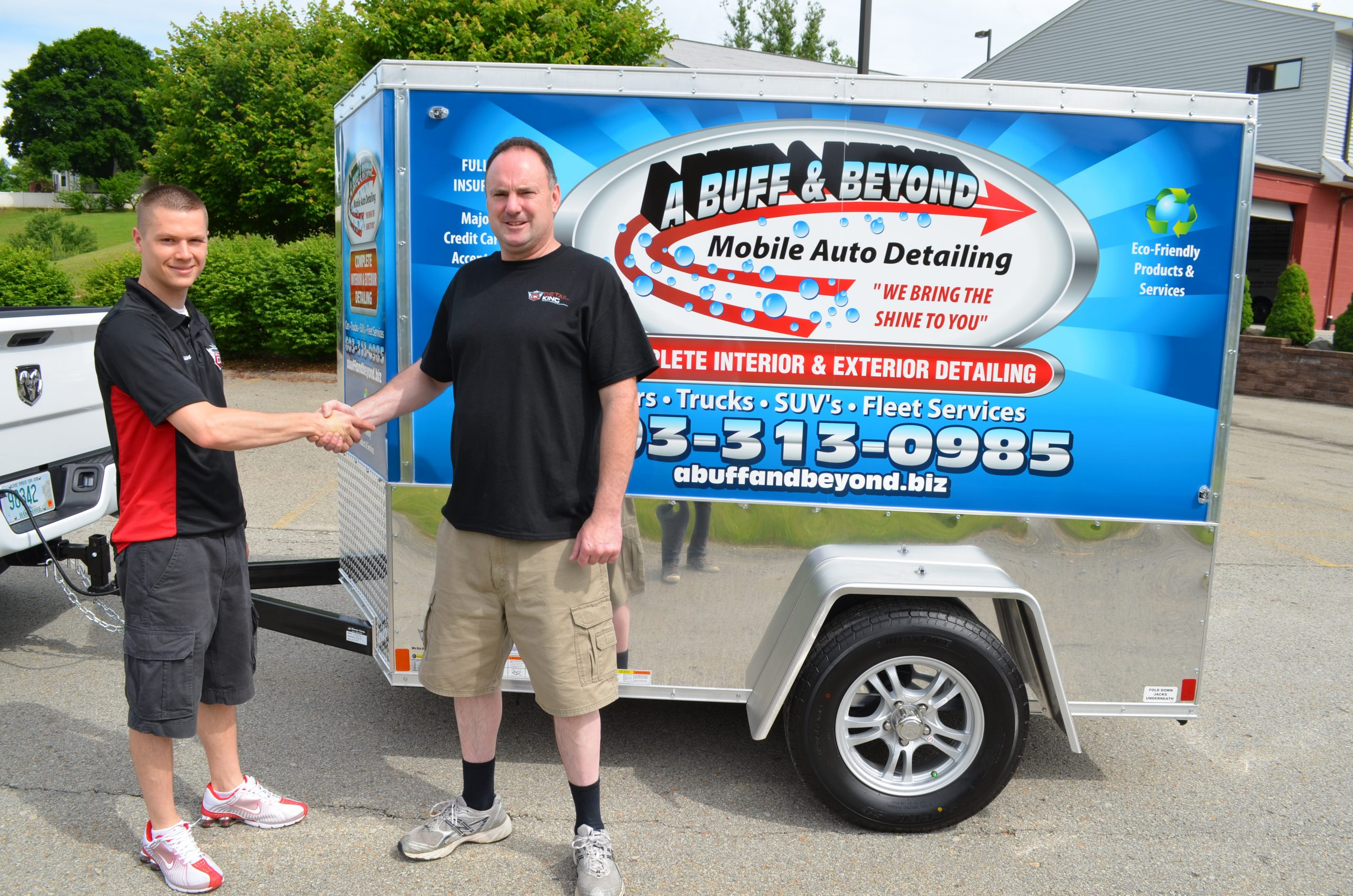 Mobile-detailing-trailer-a-buff-and-beyond