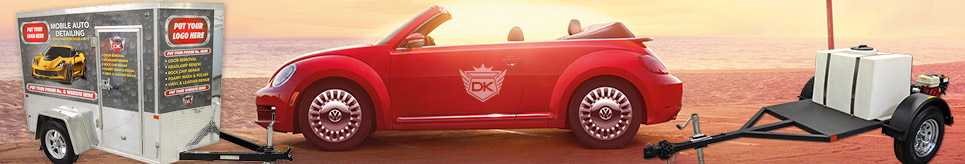 DK5800 Mobile Auto Detailing Trailer – Specifications