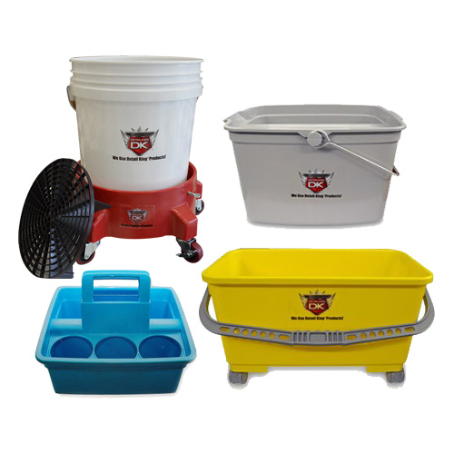BUCKETS, DOLLIES, GRIT GUARDS & CARTS