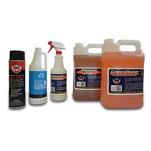 CARPET EXTRACTOR CHEMICALS
