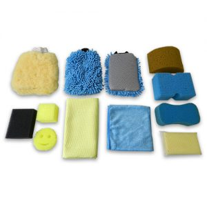 SPONGES, SCRUBBERS, CHAMOIS & WASH MITTS