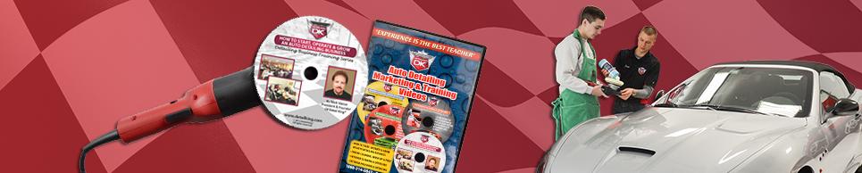 Auto Detailing Training DVDs