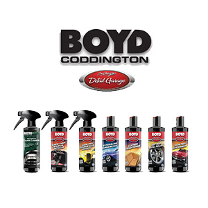 BOYD CODDINGTON DETAILING PRODUCTS