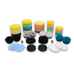 DA ORBITAL POLISHING PADS, BONNETS & BRUSHES