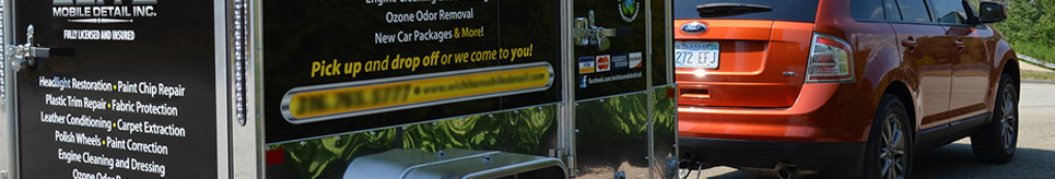 Mobile Auto Detailing Trailers