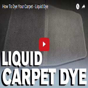 How To Dye Your Carpet – Liquid Dye