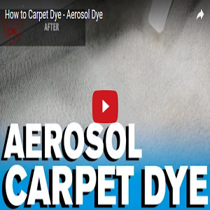 How To Carpet Dye – Aerosol Dye