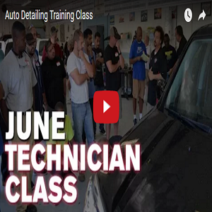 June Technician Auto Detailing Training Class – 2016