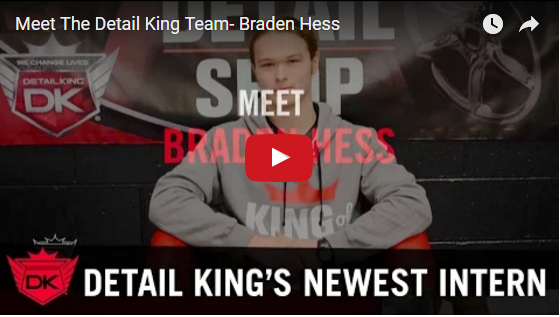 Meet The Detail King Team – Braden Hess