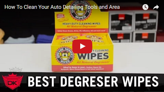 How To Clean Your Auto Detailing Tools and Area