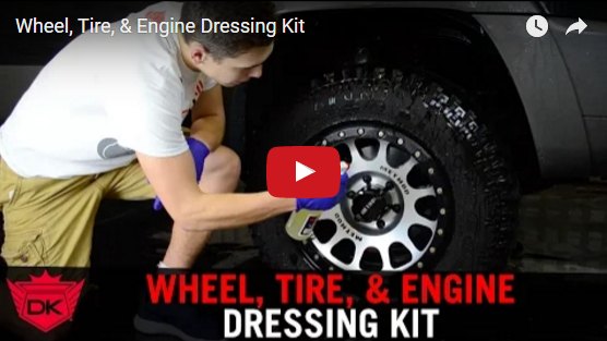 Wheel, Tire, & Engine Dressing Kit