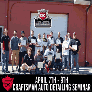 April 7th – 9th 2017 Craftsman Auto Detailing Seminar