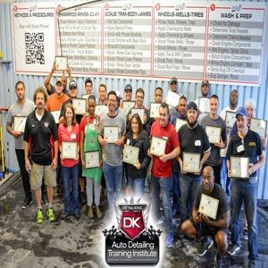 May 20th – 21st 2017 Technician Auto Detailing Seminar