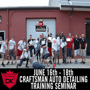 June 16th – 18th 2017 Craftsman Auto Detailing Seminar