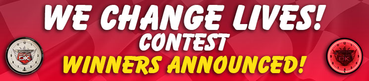 We Change Lives Contest Winners