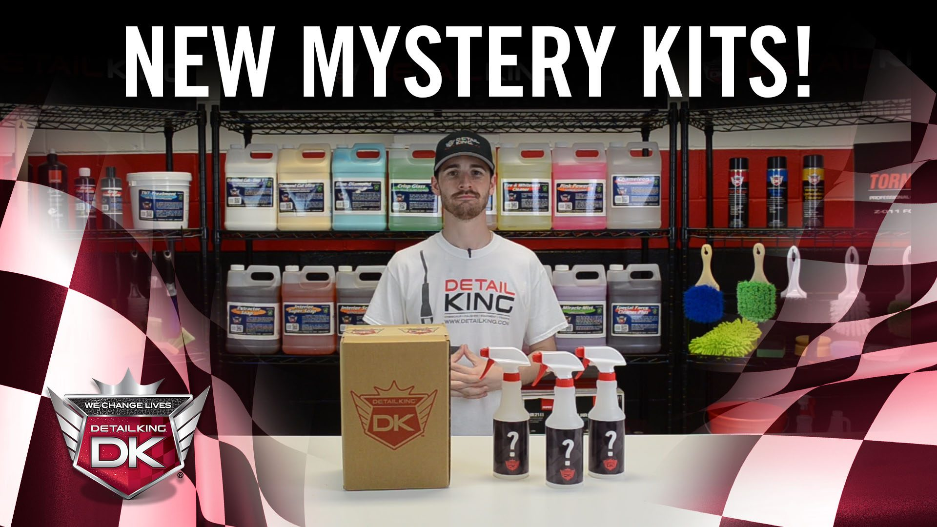 Mystery Car Care Subscription Kits!