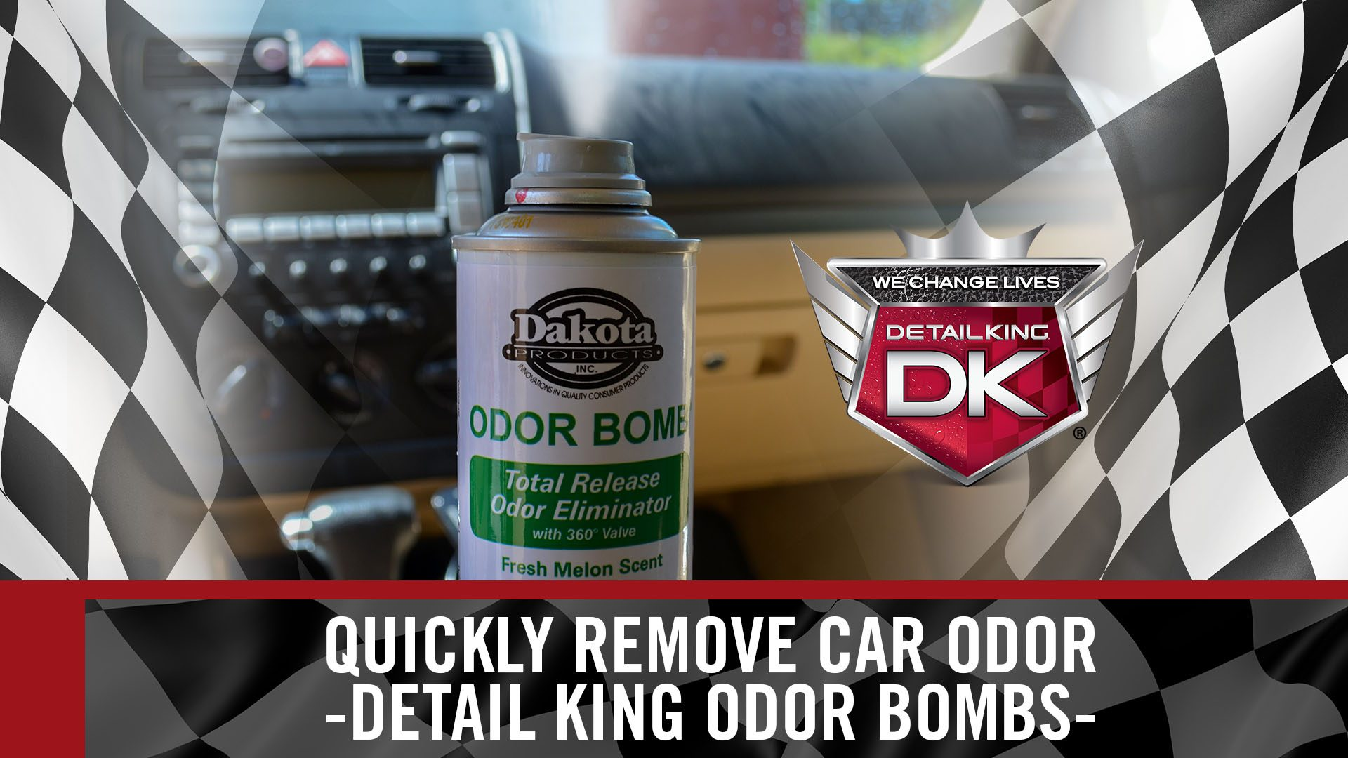 Quickly Eliminate Odor in Your Car – Odor Bombs