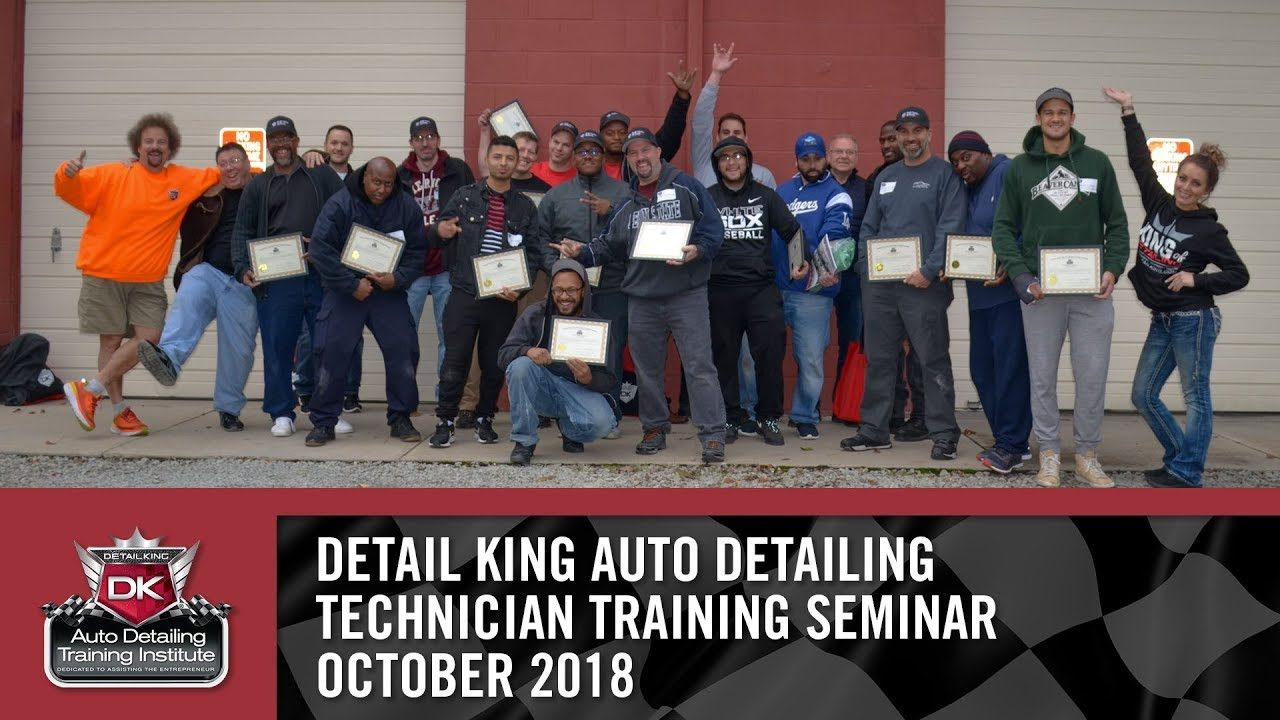 October 20th – 21st 2018 Technician Auto Detailing Training Seminar