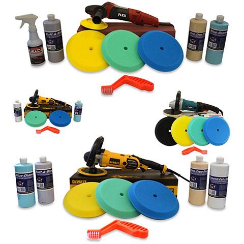 Rotary Polisher Value Kits