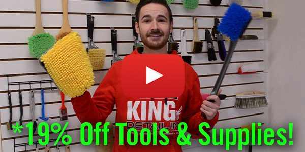 Detail King's First Blowout Sale of 2019 – *Save 19% Off Tools & Supplies Now THRU Monday 1/7/19