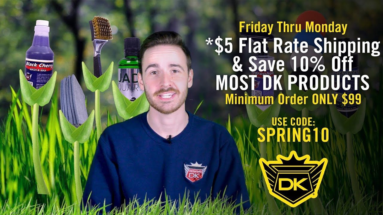 Pre-Spring Sale! – *$5 Flat Rate Shipping & Save 10% Off Most DK Products! – Minimum Order $99!