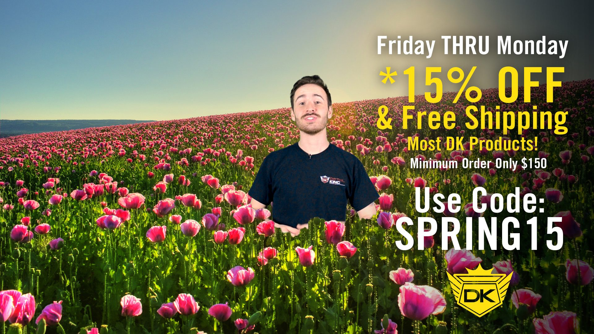 Spring Has Sprung Sale! – *15% Off & Free Shipping on Most DK Products!