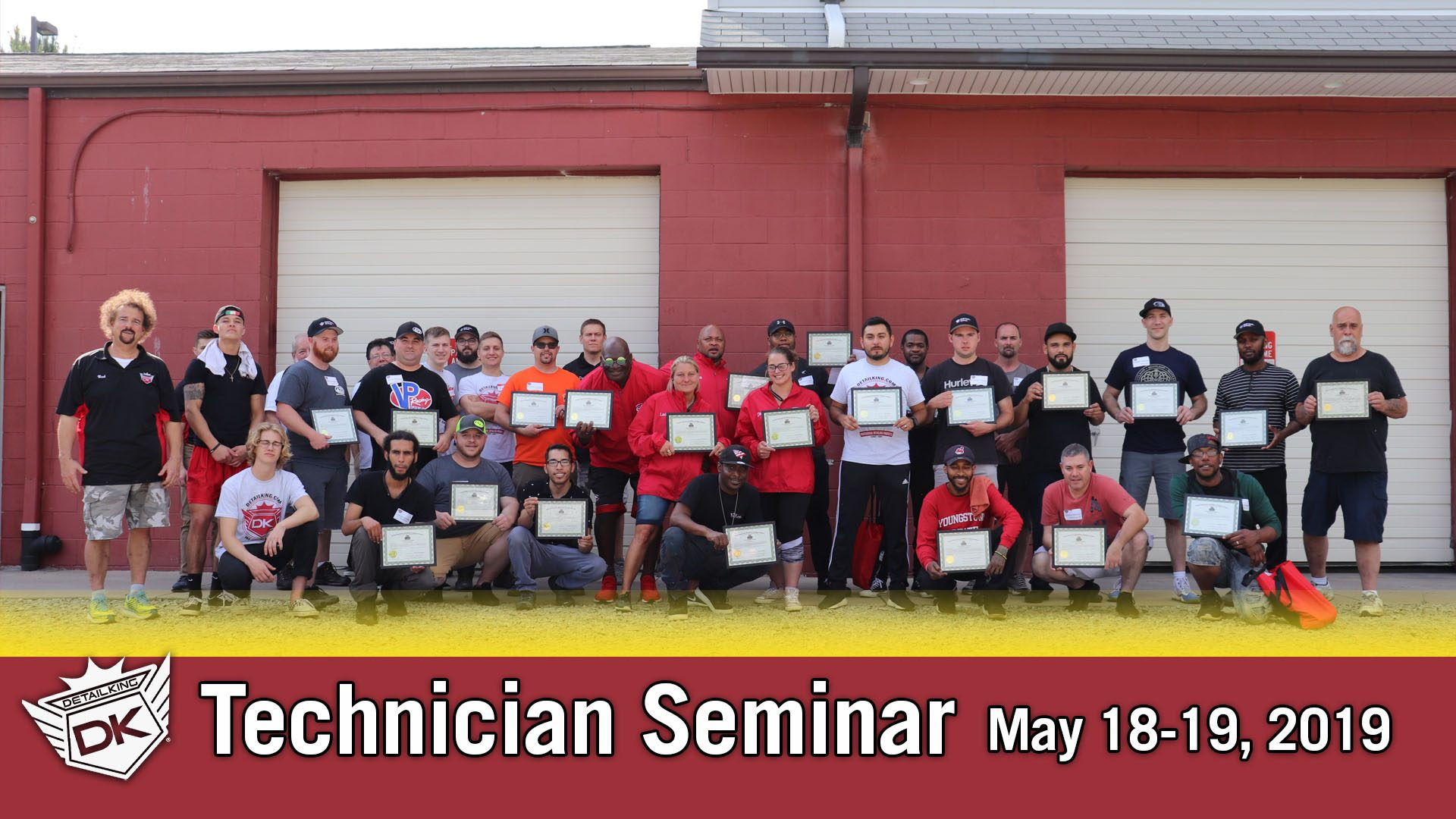May 18th – 19th 2019 Technician Auto Detailing Training Seminar
