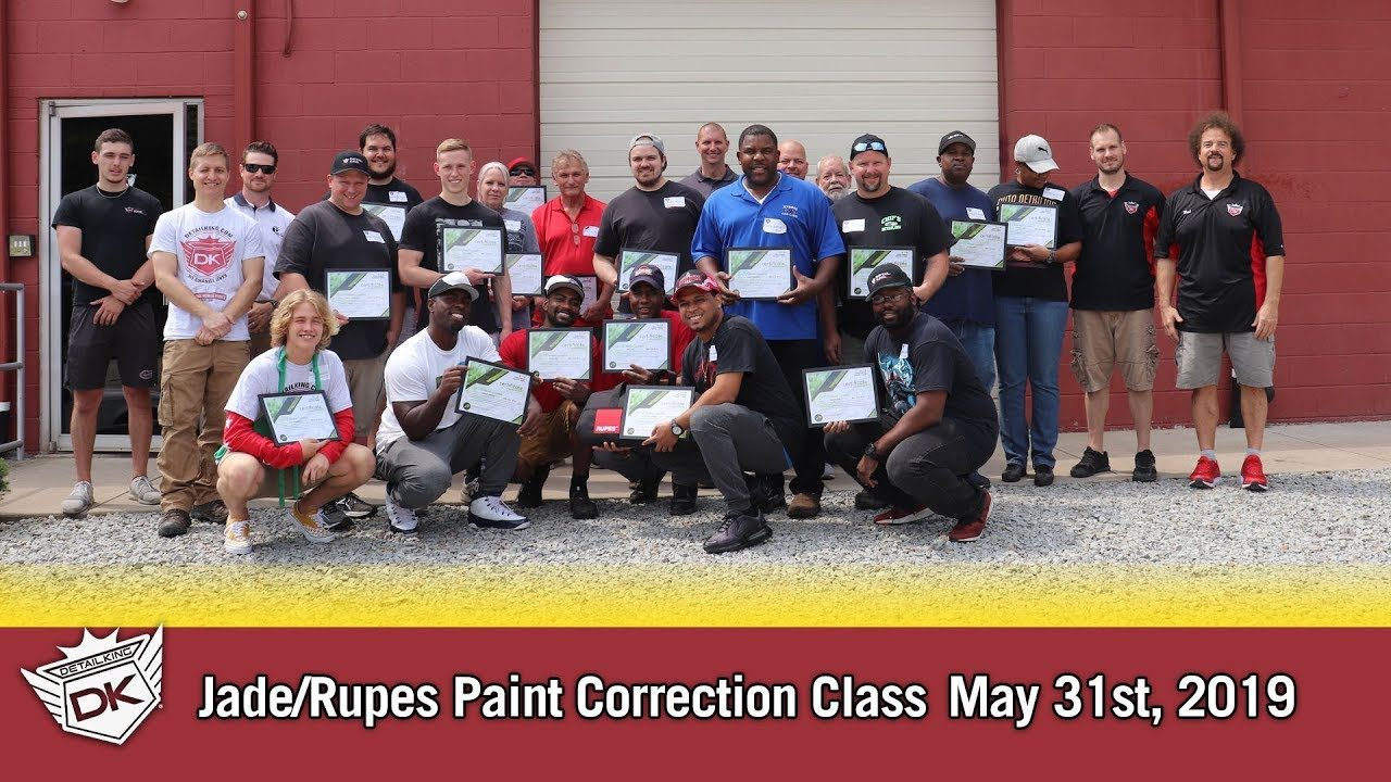 May 31st 2019 Jade Ceramic Coating & Rupes Paint Correction Class!