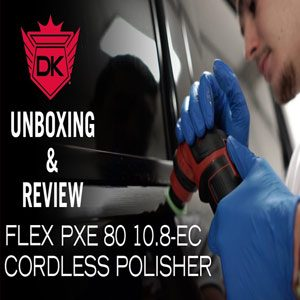 Flex PXE 80 10.8-EC Cordless Mini Polisher UNBOXING & Review