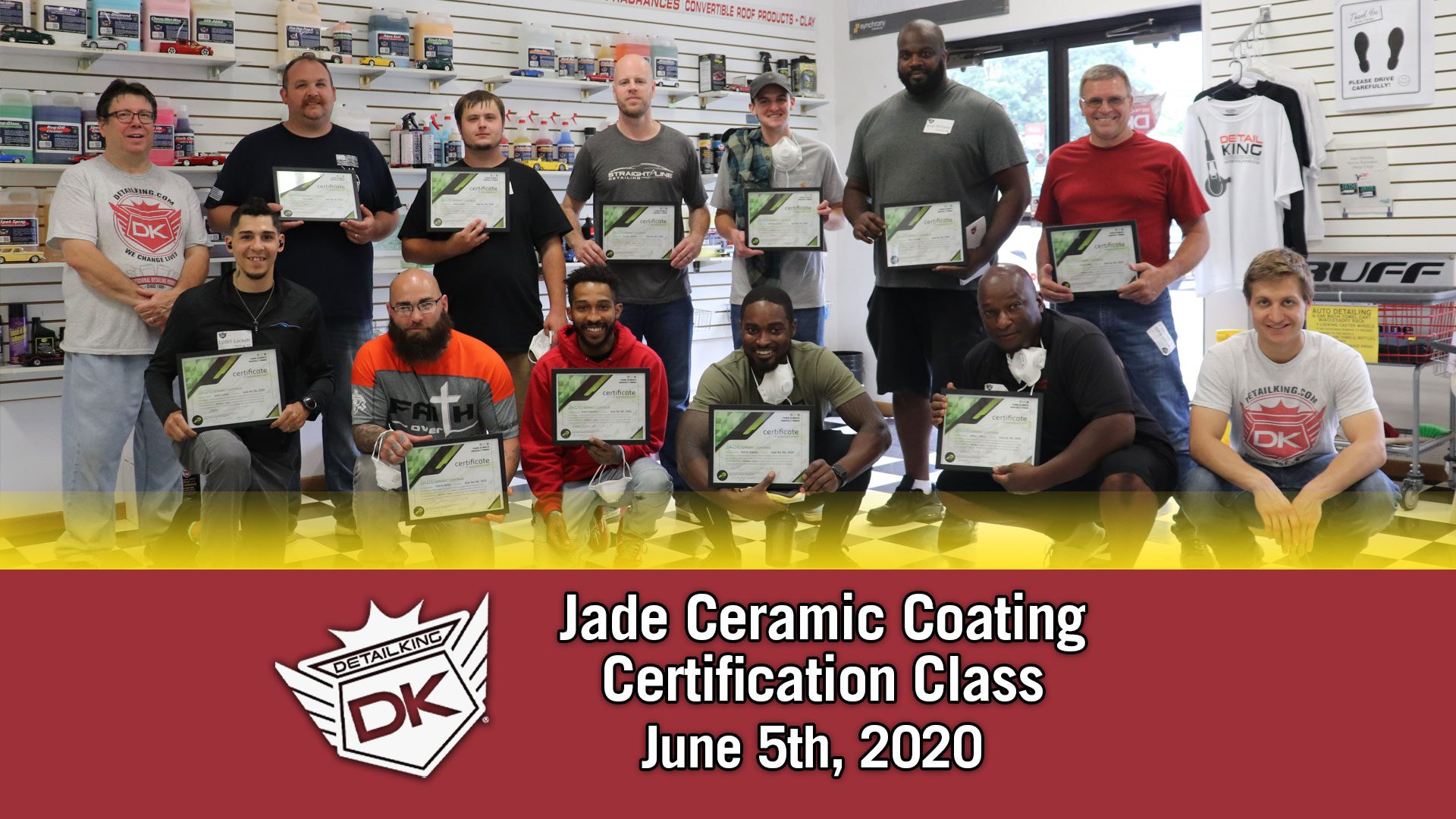 Detail King's Jade Ceramic Coating Class! June 5th, 2020