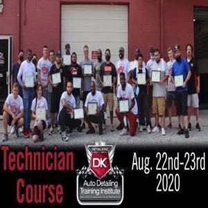 August 2020 Technician Seminar
