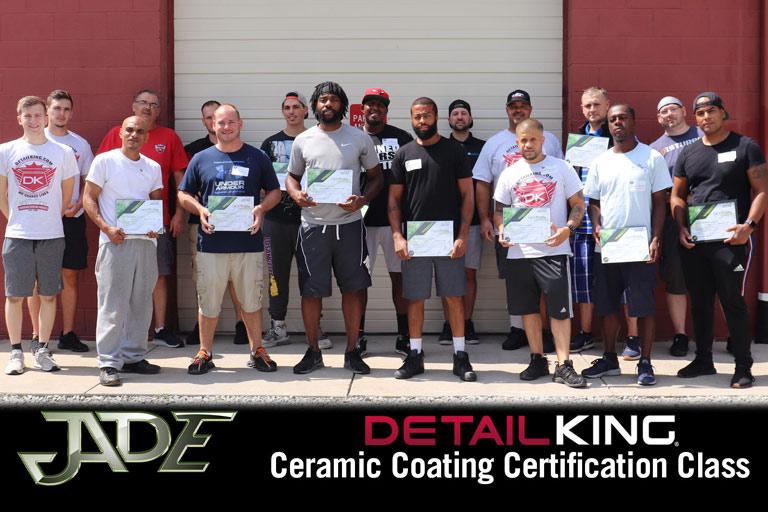 Ceramic Certification August 2020