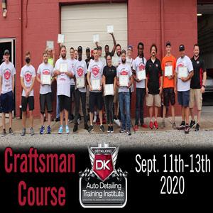 September 2020 Craftsman Seminar