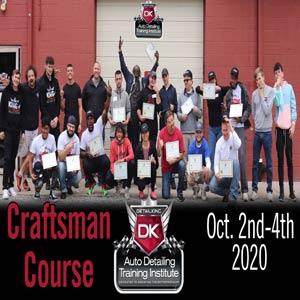 October 2020 Craftsman Seminar