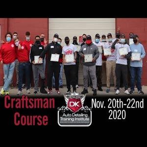 November 2020 Craftsman Seminar